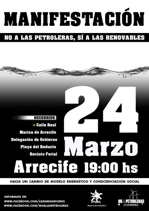 Demo 24. März Lanzarote