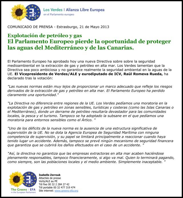 ComPrensa: Explotación de petróleo y gas - El PE pierde la opo