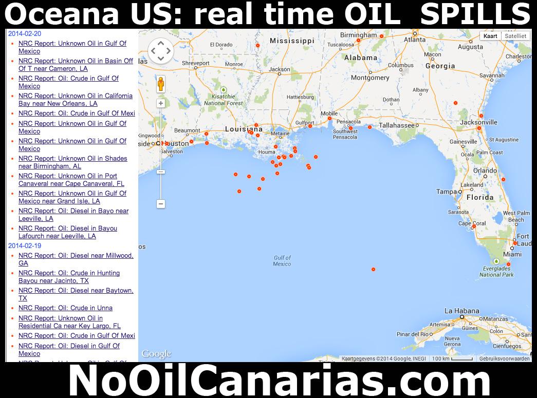 Nooil Oceana Spill Us